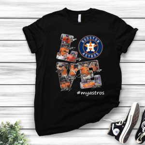 Houston Astros Love Signatures #myastros shirt