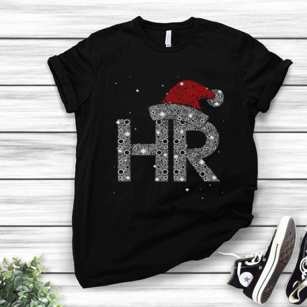 Human Resources Diamond Santa Christmas shirt