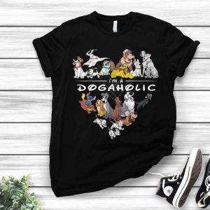 I'm A Dogaholic Dog Lover shirt