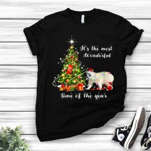 It's The Most Wonderful Time Of The Year Bear Christmas Tree shirt