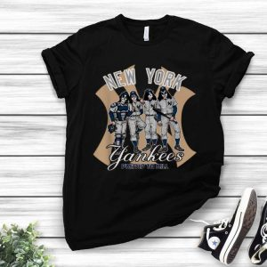 KISS New York Yankees Dressed To Kill shirt
