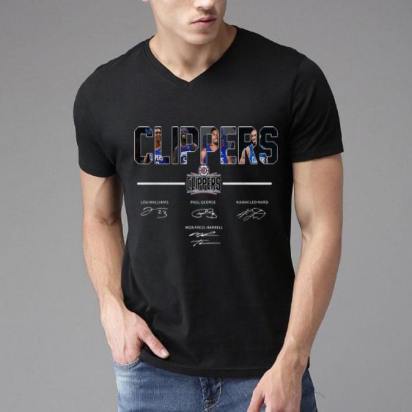 Los Angeles Clippers Lou Williams Kawhi Leonard Signatures shirt