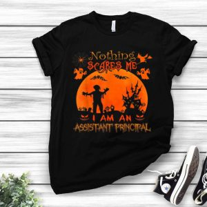 Nothing Scares Me I Am An Assistant Principal Halloween shirt