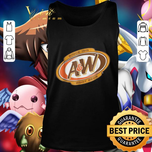 Official A And W Root Beer Since 1918 shirt