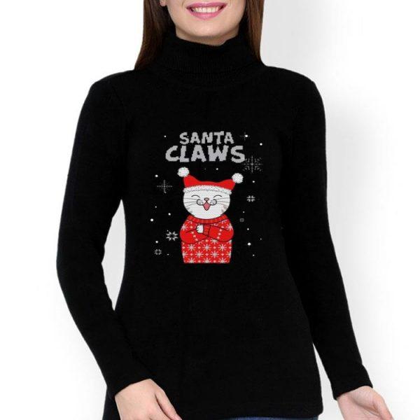 Santa Claws Cat Lover Ugly Christmas shirt