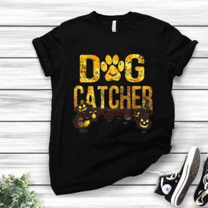 Scary Halloween Dog Catcher Costume Dog Lovers shirt