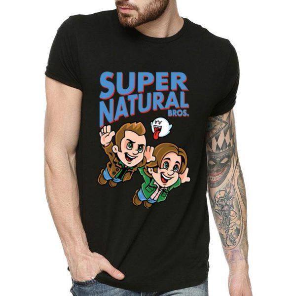Supernatural Bros Boo Hallowene Christmas shirt