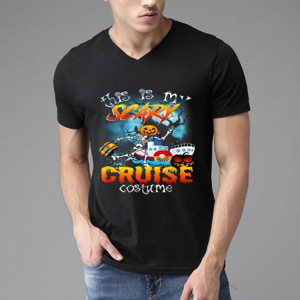 This Is My Scary Cruise Costume Halloween shirt