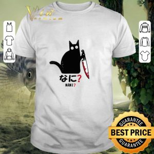 Top Cat nani black cat with knife shirt