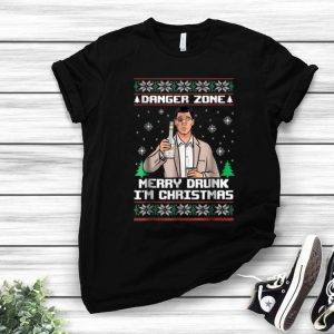 A Danger Zone Merry Drunk I'm Christmas Ugly Christmas shirt