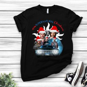 A Very Supernatural Christmas Supernatural Signatures shirt