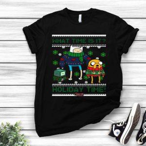 Adventure Time Finn And Jake Holiday Time Ugly Christmas shirt