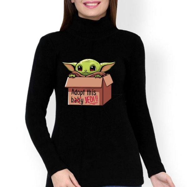 Baby Yoda Adopt This Jedi Not Baby shirt