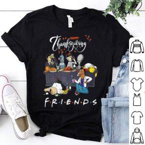 Bender Homer Simpson Rick Bojack Horseman Friends Thanksgiving shirt