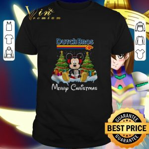 Best Mickey Mouse drink Dutch Bros Merry Christmas shirt
