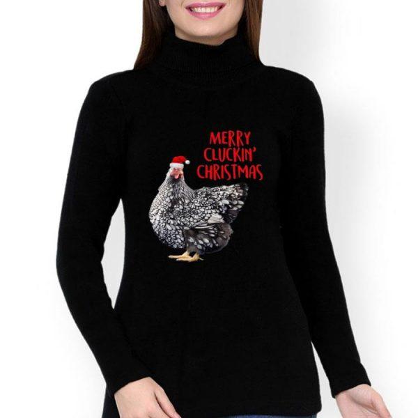 Chicken Merry Cluckin' Christmas shirt