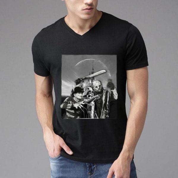 Darth Vader Freddy Krueger Jason Voorhees Disney shirt