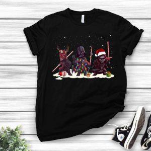 Darth Vader Kylo Ren And Darth Maul Star Wars Christmas shirt