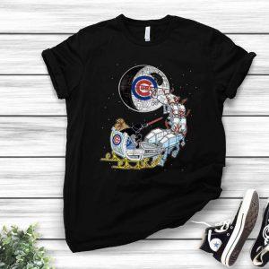 Darth Vader Santa's Sleigh Chicago Cubs Star Wars Christmas shirt