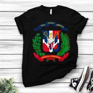 Dominican Flag Coat Of Arms Republica Dominicana shirt