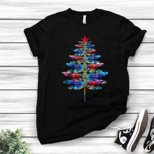 Dragonflies Christmas Tree shirt