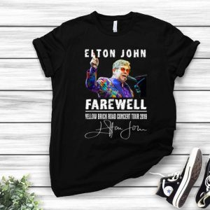 Elton John Farewell Yellow Brick Road Concert Tour 2019 Signature shirt