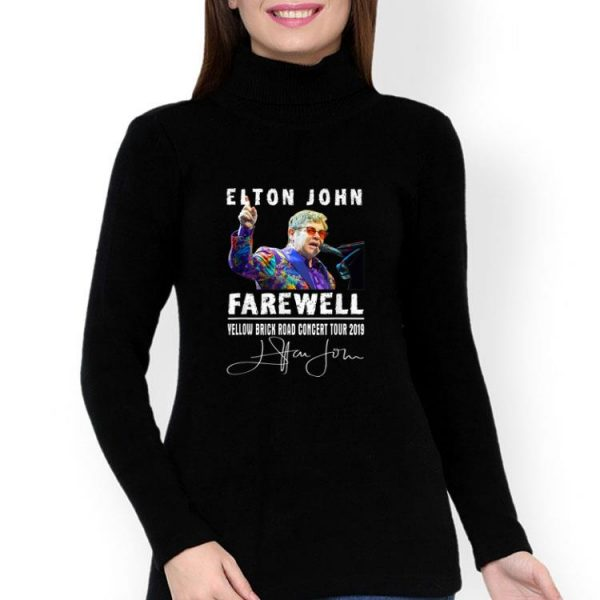 Elton John Farewell Yellow Brick Road Concert Tour 2019 Signature shirt