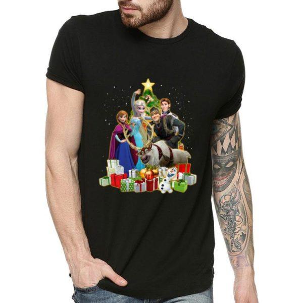 Frozen Characters Christmas Tree shirt