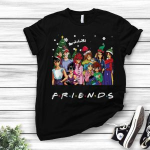 Ghost Fighter Characters Friends Merry Christmas shirt
