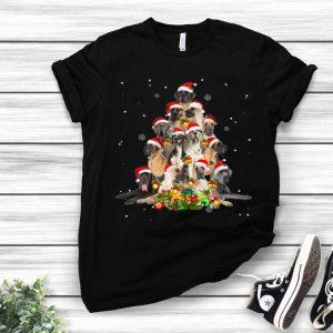 Great Dane Christmas Tree Pajamas Merry Xmas shirt