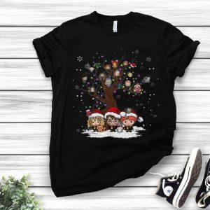 Harry Potter Chibi Character Tree Merry Christmas shirt