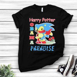 Harry Potter Obama Sonic Paradise Sonic shirt