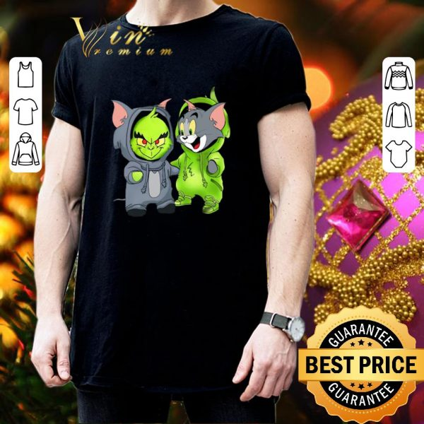 Hot Baby Grinch and Tom shirt