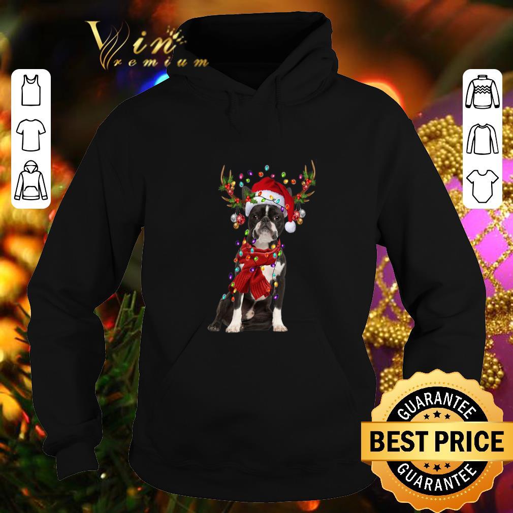 Hot Boston Terrier Reindeer Christmas shirt 4 - Hot Boston Terrier Reindeer Christmas shirt
