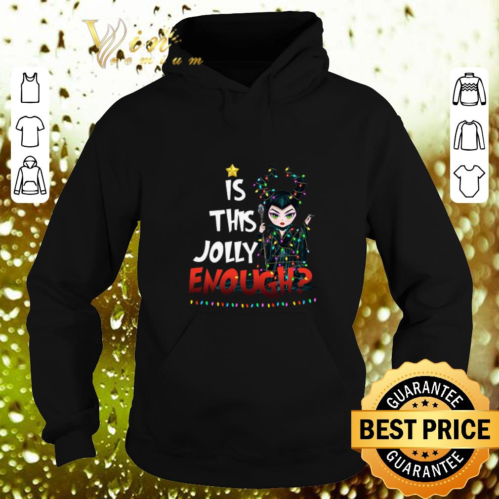 Hot Maleficent 2019 is this Jolly enough Christmas shirt 4 - Hot Maleficent 2019 is this Jolly enough Christmas shirt