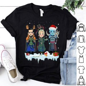 Jon Snow Daenerys Targaryen Night King GOT Christmas shirt