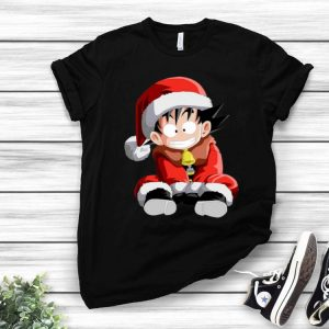 Kid Goku Santa Claus Merry Christmas shirt