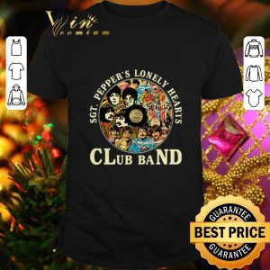Original The Beatles SGT. Pepper's lonely hearts club band shirt