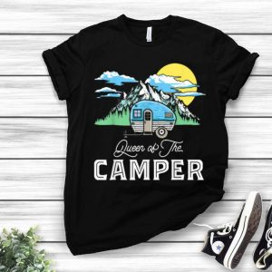Queen Of The Camper Camping shirt