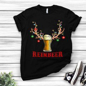 Reinbeer Christmas Reindeer Beer Lovers shirt