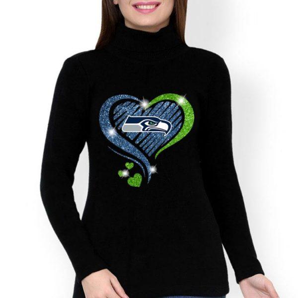 Seattle Seahawks Diamond Heart shirt