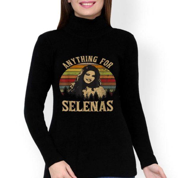 Selena Quintanilla-Pérez Anything For Selenas Vintage shirt