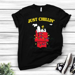 Snoopy Just Chillin' Christmas shirt