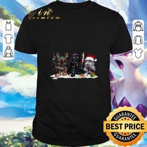 Star Wars Stormtrooper Darth Vader Boba Fett Christmas shirt