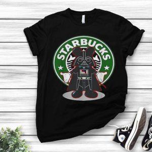 Starbucks Darth Vader Mickey Mouse shirt