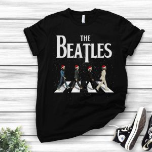 The Beatles Santa Abbey Road Christmas shirt