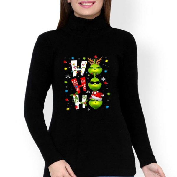 The Grinch Ho Ho Ho Christmas shirt
