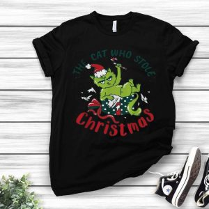 The Grinchcat Who Stole Christmas The Grinch And Cat shirt