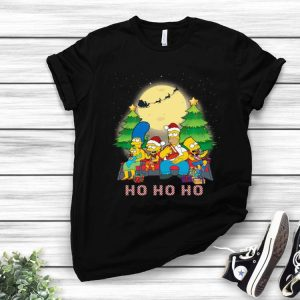 The Simpsons Family Ho Ho Ho Christmas shirt