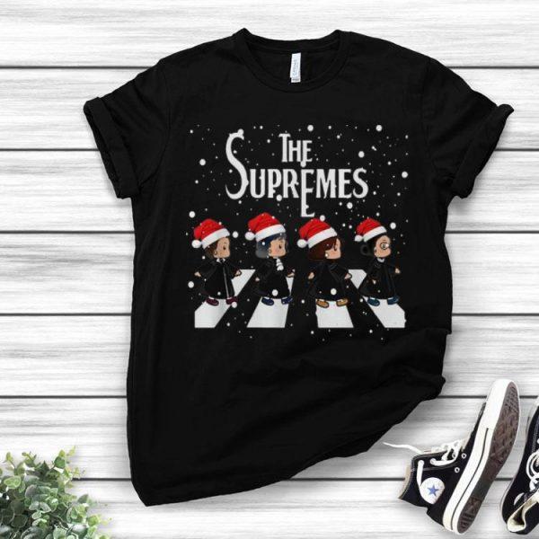 The Supremes Abbey Road Santa Christmas shirt